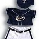 New Baseball Uniform ~ fits Build A Bear and other 15inch Animals