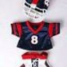 New Football Uniform ~ fits Build A Bear and other 15inch Animals
