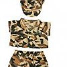 New Army Uniform ~ fits Build A Bear and other 15inch Animals