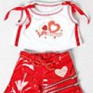 New Very Valentine Outfit ~ fits Build A Bear and other 15inch Animals