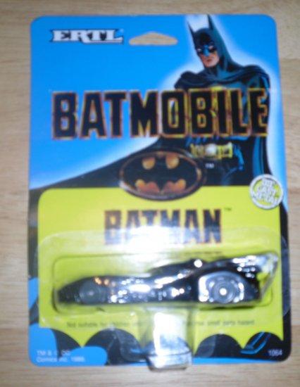 1989 Ertl Batman Batmobile Die Cast MOC OOP