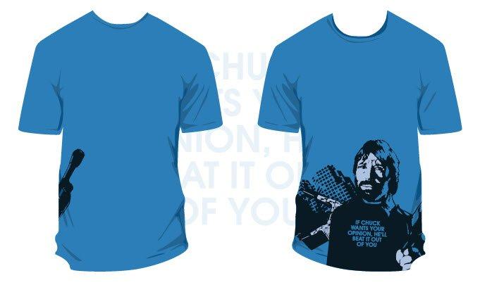 Chuck Norris Men's T-Shirt