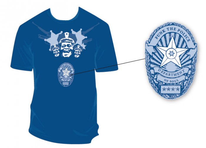 Funk The Police Men's T-Shirt