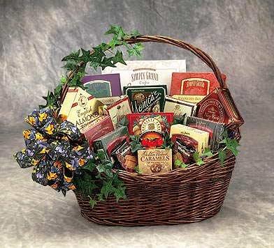 Sweets-N-Treats Gift Basket