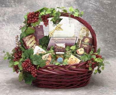 Gourmet Gala Gift Basket