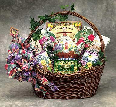 Spring Tea Time Gift Basket