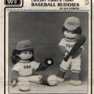 Crochet Tommy & Tammy Baseball Buddies Pattern by Sue Penrod