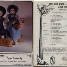 "Will and Dora Days Gone By - 15"" dolls Pattern BIE Orig"
