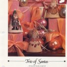 Trio of Santas - Vanessa Ann - Christmas in Cross Stitch Chart