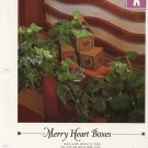 Merry Heart Boxes - Vanessa Ann -Christmas in Cross Stitch Chart