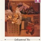 Quilt-patterned Box - Vanessa Ann - Christmas in Cross Stitch Chart
