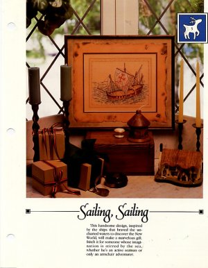 Sailing, Sailing- Vanessa Ann -Christmas in CrossStitch Chart