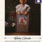 Holiday Calendar -Vanessa Ann-Christmas in Cross Stitch Chart