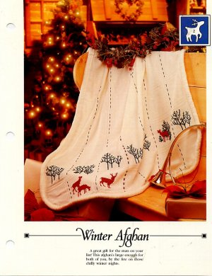 Winter Afghan - Vanessa Ann - Christmas in Cross Stitch Chart