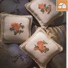 Damask Pillows -Vanessa Ann -Christmas in Cross Stitch Chart