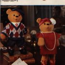 "Simplicity 0660 Decorative Bear & Clothes Pattern - Approx 15"" Tall"