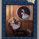 "Applique & Hoop Art ""Geese In A Garden"" Pattern"