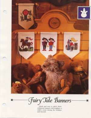 Fairy Tale Banners -Vanessa Ann-Christmas in Cross Stitch Chart