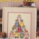 Beary Best Friends LA 2248 Heartprint, Inc Cross Stitch Chart