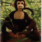 Annie's Attic Crochet Safari Monkey Pattern 87S67