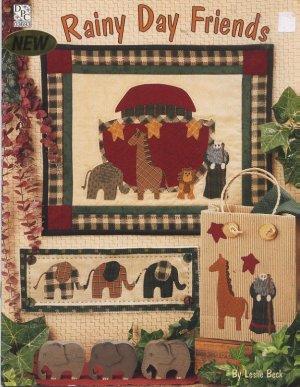 Baby & Kids Wall Hanging Patterns - Noah's Ark Nursery Quilt Blocks