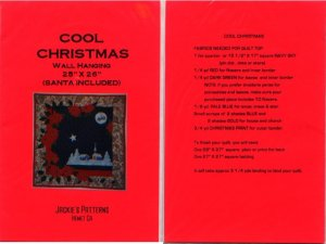 Cool Christmas Wall Hanging Jackie's Patterns