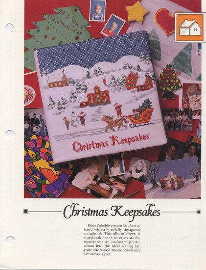 Vanessa Ann - Christmas Keepsakes - Scrapbook Cover Chart