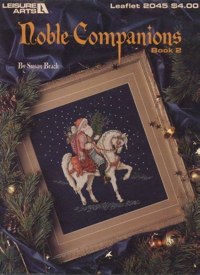 Noble Companions Book 2 Leisure Arts Leaflet 2045