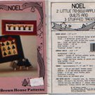NOEL No-Sew Applique Quilts and Stuffed Trees Pattern