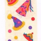Mrs Grossman's Party Hat Stickers #15L