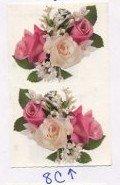 Mrs Grossman's Spring Rose Nosegay Photoessence Stickers #8C