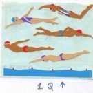 Mrs Grossman's Swimmers Stickers #1Q Purple/Red