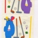 Mrs Grossman's Golf Stickers #1J Purple/Blue