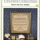 Pat Rogers Hearts and Lace Sampler Pattern Counted Collection  PR-19