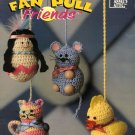 Crochet Fan Pull Friends Annie's Attic Pattern 878504