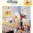 Disney Pooh Playful Nursery Patchwork & Machine Applique Patterns