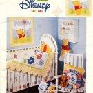 Disney Pooh Playful Nursery Patchwork & Machine Applique Patterns