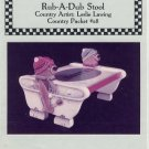 Rub-A-Dub Stool Tole Painting Pattern