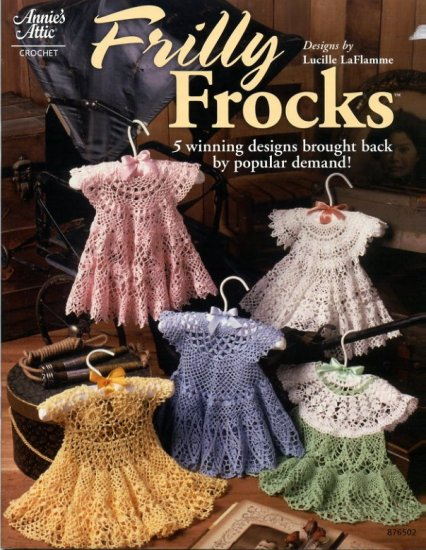 Annies Attic Crochet Frilly Frocks 5 Winning Designs 876502