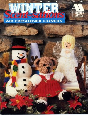 Free Crochet Pattern - Angel Air Freshener Covers - Free Crochet