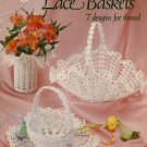 Crocheted Lace Baskets Patterns American School of Needlework 1032