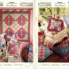 Simplicity Quilted Patchwork Squares Pattern #7139