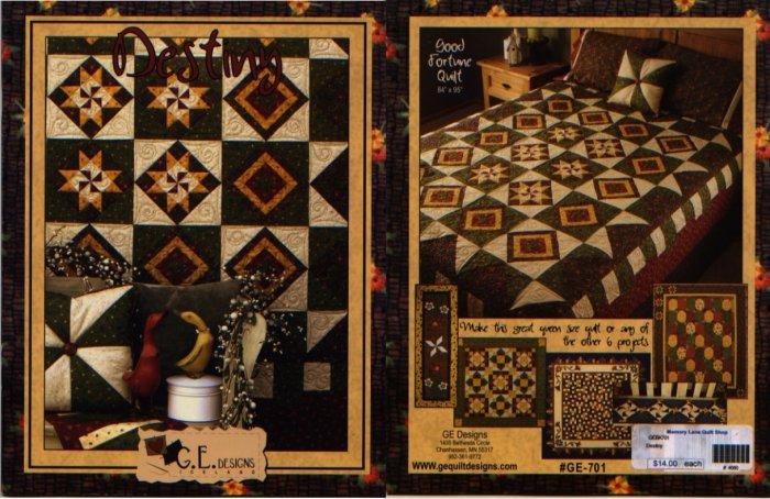 Destiny By Gudrun Erla Quilt Pattern Book