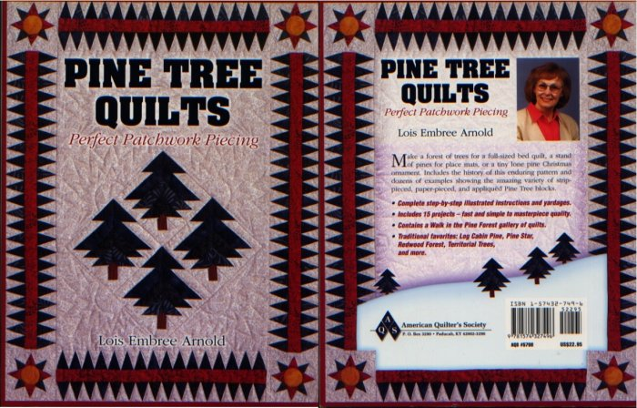 Pine Tree Quilts Pattern Book by Lois Embree Arnold