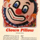 Clown Pillow by Michele Wilcox - Crochet Pattern 87B55 Annie's Attic