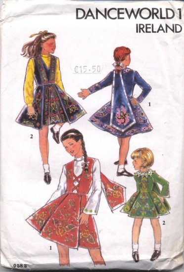 Danceworld 1 Ireland - Pattern for Costume/Dance Outfit