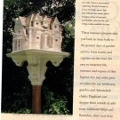 Better Homes and Gardens Bird Mansion Plans