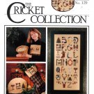 The Cricket Collection No 129 Christmas Letters Cross Stitch Pattern