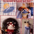 Kitchen Angels to Crochet in Thread and Yarn Patterns Leisure Arts Leaflet 2832