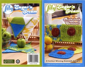 Lily Sugar n Cream 8 Winning Dishcloth Designs Book 570824